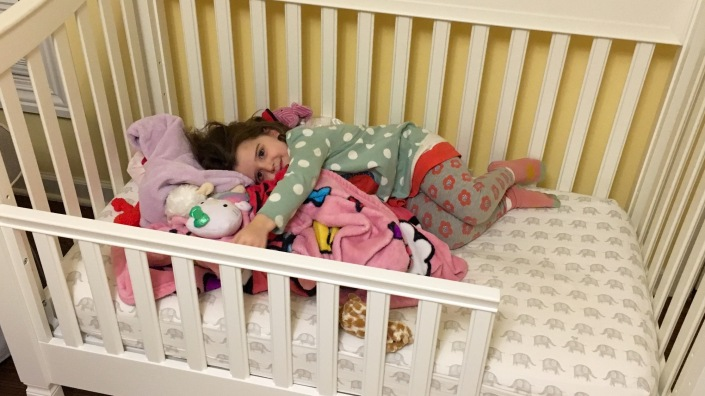 Big Girl Bed Makes All the Difference!